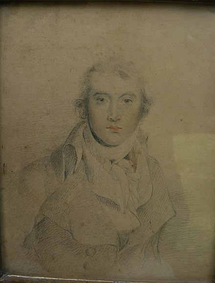 Drawing of Kemp by Sir Thomas Lawrence. Drawing of Thomas Kemp by Thomas Lawrence.jpg