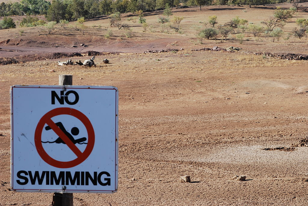 Drought Swimming Hole