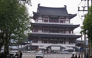 Culture of Hunan - Dufujiangge at Changsha, the cultural capital of Hunanese culture.