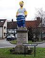 Dunchurch statue fancy dress 2009 - 10 - geograph.org.uk - 1640713.jpg
