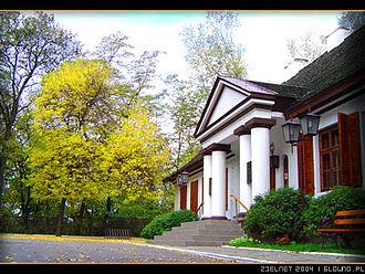Głowno - Built in 1840, Zabrzeźnia manor was last owned by Count Aleksandra Komorowska