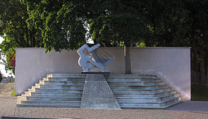 Soldau concentration camp - Działdowo – Monument to Victims   of Soldau concentration camp