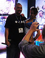 E3 2011 - Chun-Li poses at the Street Fighter X Tekken booth (Capcom).jpg
