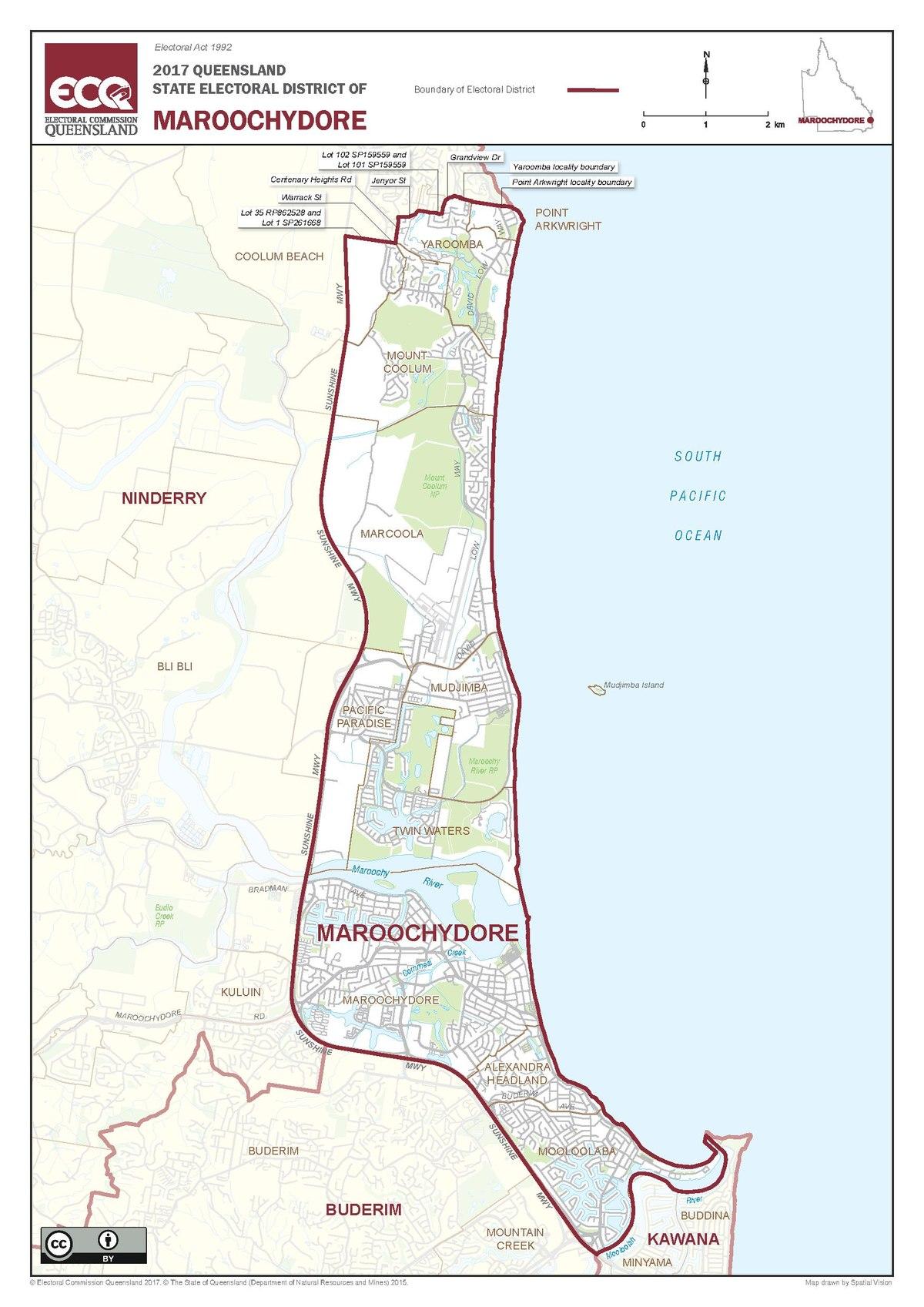 Electoral district of Maroochydore Wikipedia