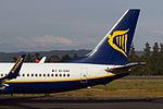 EI-DAK 737 Ryanair tailfin SCQ.jpg
