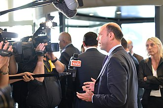 Angelino Alfano - Alfano speaks with journalists during a European Summit in 2014.