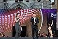 ESC2015 Opening Ceremony Eurovision Village Rathausplatz Wien Kati Bellowitsch Andi Knoll 01.jpg