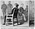 EXECUTION BY ELECTRICITY electric chair illustration Scientific American Volumes 58-59 June 30 1888.png