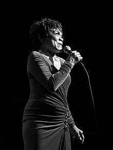 L'actor estatounitense Eartha Kitt
