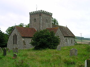 East Dean, West Sussex - East Dean church