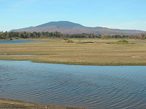 East Kennebago Mountain - East Kennebago Mt. seen from near Stratton
