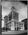 East and south elevations - Tampa City Hall, 315 East Kennedy Boulevard, Tampa, Hillsborough County, FL HABS FLA,29-TAMP,1-7.tif