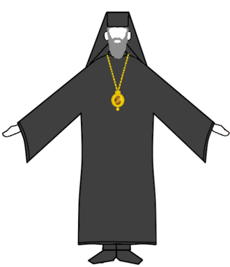 Clerical clothing - Image: Eastern Orthodox Bishop