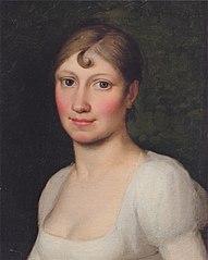 Christine Rebekka Eckersberg, f. Hyssing, kunstnerens første hustru