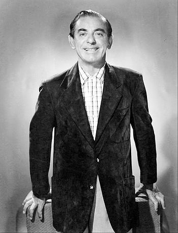 English: Pubility photo of Eddie Cantor from t...