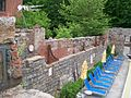 Edge of the Clipper Mill swimming pool.JPG