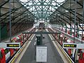 Edgware station high southbound.JPG