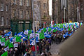Edinburgh public sector pensions strike in November 2011 2.jpg