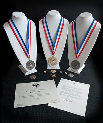 President's Volunteer Service Award - PVSA award pieces