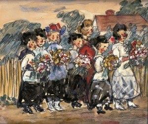 Edith Dimock - Image: Edith Dimock, Sweat Shop Girls, 1913 Armory