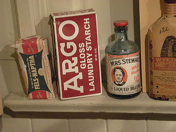 Early 20th century cleaning products, Edmonds ...