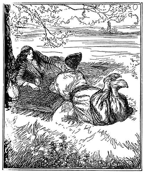File:Edmund J Sullivan Illustrations to The Rubaiyat of Omar Khayyam First Version Quatrain-010.jpg