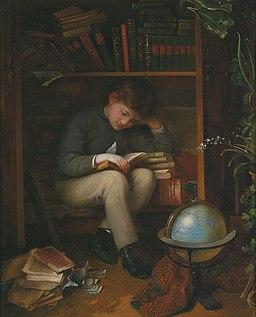 Eduard Swoboda Bücherwurm