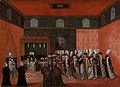 Een ambassadeur op audiëntie bij sultan Ahmed III Rijksmuseum SK-A-4080.jpeg