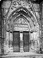 Eglise Saint-Sulpice - Portail de la façade ouest - Saint-Sulpice-de-Favières - Médiathèque de l'architecture et du patrimoine - APMH00004004.jpg