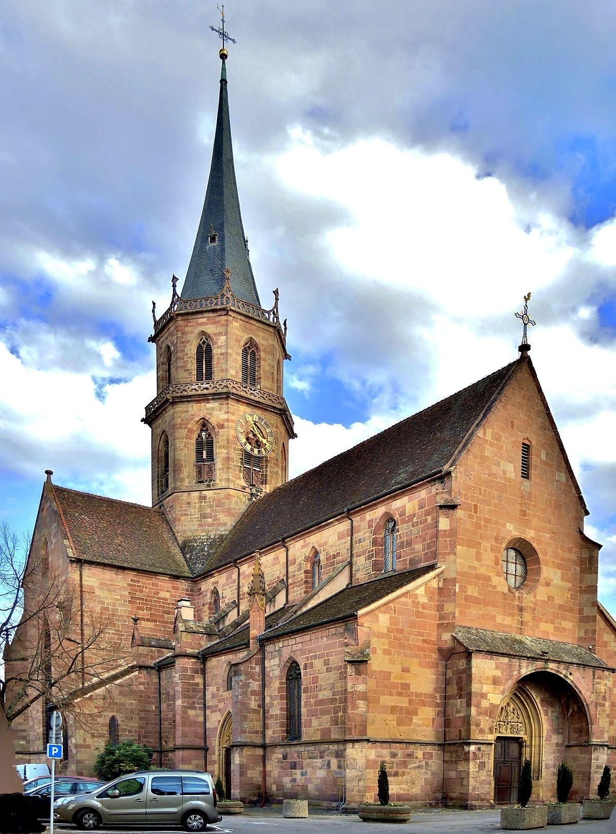 Église Saint-Maurice, Soultz-Haut-Rhin - Wikipedia
