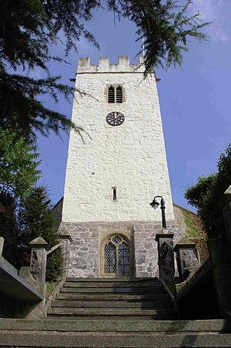 Bodfari - Image: Eglwys Sant Staffan Bodfari Sir Ddinbych St Stephen's Parish Church Bodfari, Denbighshire 14