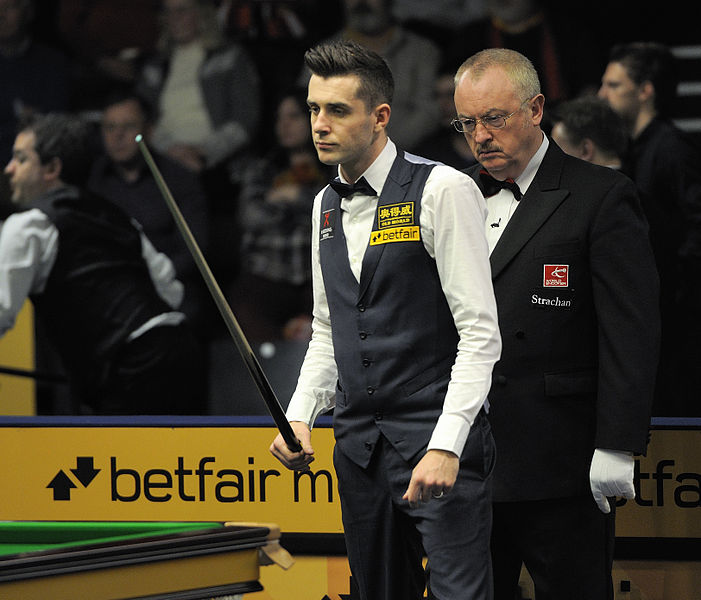 File:Eirian Williams and Mark Selby at Snooker German Masters (DerHexer) 2013-01-31 01.jpg