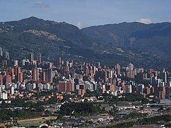El Poblado, Medellin's financial center