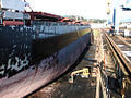 Eleftheria bulk carrier in drydock 1.jpg