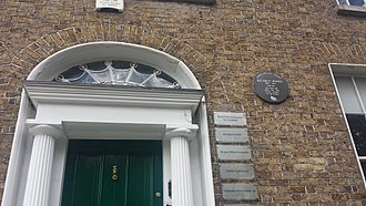 Elizabeth Bowen - Elizabeth Bowen was born and spent her first seven winters in this house