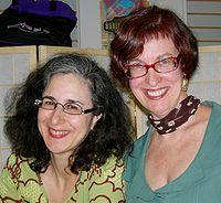 Ellen Kushner and Delia Sherman 2007.jpg