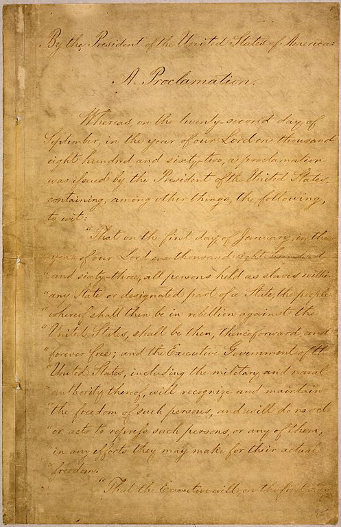emancipation proclamation essay contest The free slavery research paper (emancipation proclamation essay) presented on this page should not be viewed as a sample of our on-line writing service.