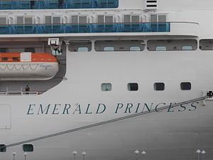 Emerald Princess Name Tallinn 11 July 2012.JPG