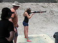 Emily with the Remington 870 - 9229289283.jpg
