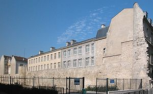 Professed House (Paris) - The present-day lycée Charlemagne.
