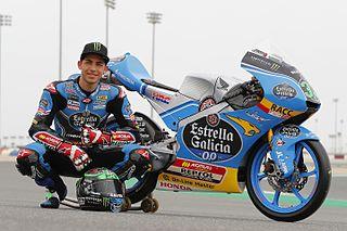 Enea Bastianini Italian motorcycle racer