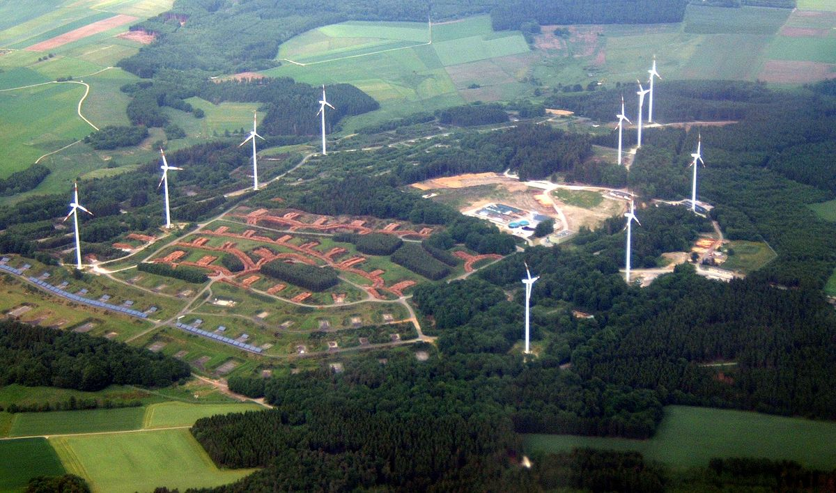 Germany Solar Power >> Energielandschaft Morbach – Wikipedia