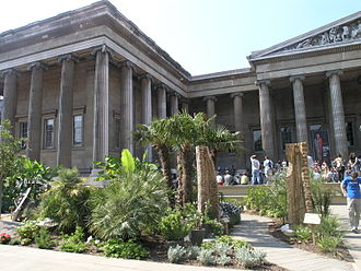 Ground Force - The Africa Garden at the British Museum