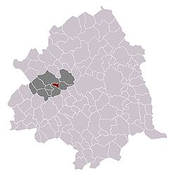 Englos in the arrondissement of Lille