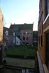 enkhuizen zuiderzee museum - view from the peperhuis looking south