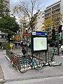 Entrée Station Métro Lourmel Paris 3.jpg