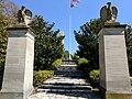Entrance to William Henry Harrison's grave.jpg
