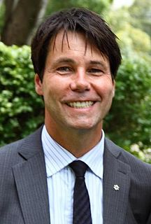 Eric Hoskins Former Ontario Minister of Health and Long-Term Care