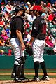 Erik Kratz and Virgil Vasquez on May 19, 2009.jpg