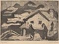 Ernst Ludwig Kirchner, Alpine Huts in Fog, 1920, NGA 154379.jpg